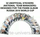 2018 Panini World Cup Stickers Collection Russia Soccer Cards 33