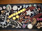 Vintage Costume Jewelry Lot W Germany Sarah Cov Coro Trifari Lisner Japan