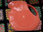 Fiesta Large Disk Pitcher Persimmon Retired Fiestaware, used once