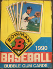 1990 Bowman Baseball Cards Wax Box 36 packs!!!