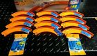 20 NEW Hot Wheels Track Builder Connectors And 12 Curved Tracks super mega lot