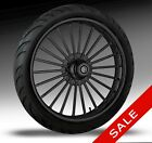 21 Harley Wheel ILLUSION Black Wheel Package by RC Components