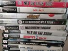 Video Games PS2 PlayStation 2 NFL MLB NBA Golf etc. & XBOX 30 most with booklet