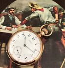 AMERICAN W.Co. WILD WEST 1872 MODEL 14k ROSE GOLD All original C: 1883 BOX