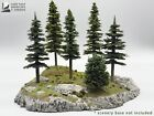 Bulk Lot of Rocky Mountain High Model Trees for model trains, dioramas, and more