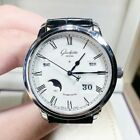 New Glashütte Original 100-02-22-12 Stainless Steel 42mm Automatic Men's Watch