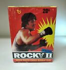 Rocky II Rematch - Movie Photo Cards Bubble Gum - Sealed Wax Box - Topps 1979