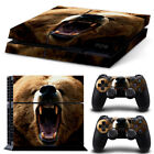 Raccoon PS4 Skin Stickers PS4 vinyl decal Cover F Sony Playtation 4 PS4 Console