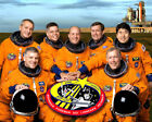 Space Shuttle Endeavour Mission Sts 123 Crew Portrait 8X10 Nasa Photo Print