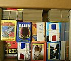 Box Lot Movie Cards 3D Glasses Alien ET Galactica Superman Starwars The A Team
