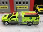 MATCHBOX FIRE FORD F 350 KME FIRE RESCUE MINI PUMPER KITBASHED CUSTOM UNIT