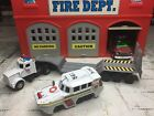 MATCHBOX FIRE UNITED STATES COAST GUARD RESCUE DUK  TRACTOR TRAILER CUSTOM SET