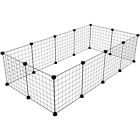 Animal Exercise Pen Play Yard Train Puppy Cage Kennel Crate Playpen Fence Pets