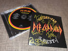 DEF LEPPARD - BEST OF - FULLY HAND SIGNED / AUTOGRAPHED CD ALBUM UNIQUE