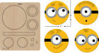 New Minions Wooden die Scrapbooking C 282 1 Cutting Dies Free shipping
