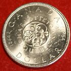 1964 CANADA DOLLAR UNC GREAT COLLECTOR COIN GIFT CAD4