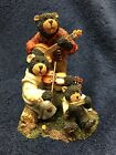 Boyds Bears* Ma, Pa & Junior Blue Grass Band* w/* Bubba B Bear Ex Edtion*RETIRED