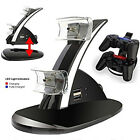 PS3 Playstaton 3 Controller Charging Dock Station Dual Twin Dual Power Charge