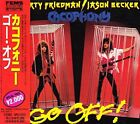 CACOPHONY Go Off! JAPAN CD APCY-2015 1991 NEW