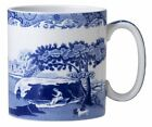 Spode Blue Italian Mug 9 Oz Set of 4 Porcelain Blue Scene Coffee Cup  1380488