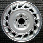 Saturn LW300 Machined w Silver Pockets 15 inch OEM Wheel 2000 2002 90576046 90