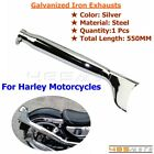 Motorcycle Chrome Fishtail Exhaust Muffler Custom For Harley Davidson Choppers