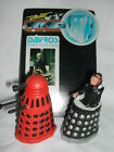 DOCTOR WHO DAPOL DALEK LOT RED  DAVROS DR WHO DAMAGED