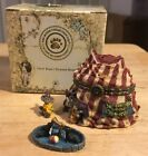 2000 Boyd's Bears Uncle Bean's Treasure Boxes Gizmoe's Big Top w/Giggle McNibble