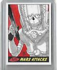 Mars Attacks! Heritage 1 1 Colour Sketch Card AIM Topps - 2012