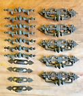 Lot Of 16 Assorted Vintage Brass Drawer Pulls