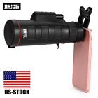 35X50 Monocular Telescope HD Night Vision Wide angle Prism Scope w Phone Clip