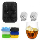 Lattice 3D Creative Skull Soft Silicone Ice Mold Ice Tray Supplies For Whiskey