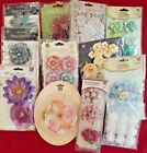 LOT OF 12 NEW PACKAGES OF PRIMA MARKETINGFLOWERS