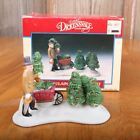 Lemax 1992 Christmas Village Tree Harvest Porcelain Accessory Dickensvale