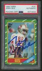 1986 Topps #161 Jerry Rice 49ers RC Rookie HOF Signed AUTO PSA DNA Authentic!