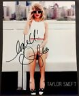 Taylor Swift 8 1/2 x 11 Photo Signed Pop Country Singer Bold Autograph COA