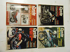 LOT OF 4 1981 CYCLE MAGAZINES,SUZUKI,HSRLEY,HONDA,YAMAHA,KAWASAKI,BMW,DUCATI,AMA