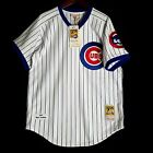 100% Authentic Ryne Sandberg Mitchell Ness 87 Chicago Cubs MLB Jersey Size 40 M