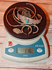 Vintage jewelry LOT of Sterling Silver and Bracelet with turquoise