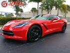 Corvette 1LT 2015 Chevrolet Corvette 1 Owner 6 Speed manual Coupe Torch Red 1LT