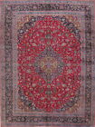 Top Quality! Soft Colorful Floral 10x13 Wool Kashmar Persian Oriental Area Rug