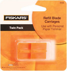Fiskars Paper Trimmer Replacement Blades 2 Pkg Straight Style G