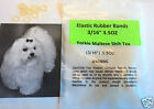 Pack of 100 Rubber Bands Latex 3 16 35 OZ for Dog Grooming Hair Bows