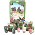 Minecraft Paper craft Animal Mobs Set Over 30 Pieces Stickers included