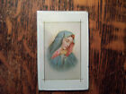 Vintage Art Deco Reverse Painted Picture Frame Madonna Mary 2 3/4