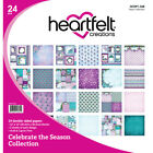 Heartfelt Creations Double Sided Paper Pad 12X12 24 Pkg Celebrate The Season