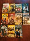 Louis LAmour lot of 11 all different Vintage Western paperback books Sackett