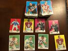 Lot of 206 1969 Topps Football Cards HOFers Lilly, Deacon Jones, Jordan