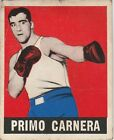 1948 LEAF KNOCK-OUT PRIMO CARNERA #90 BOXING