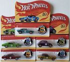 Hot Wheels 50th Anniversary Redline Replicas 5 Car Set Unpunched Cards